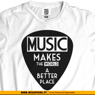 Music better place t-shirt
