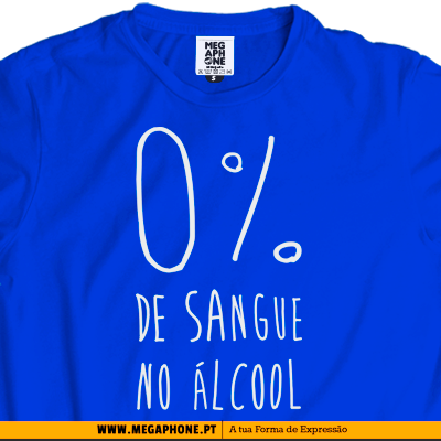 Sangue no alcool tshirt