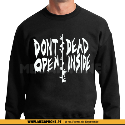 Dont open dead inside shirt