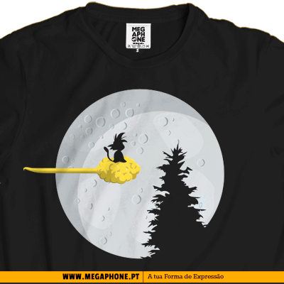 Nuvem magica dragon ball shirt