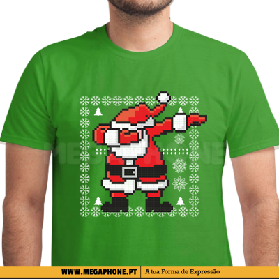 Dabbing Santa Claus Ugly Christmas shirt