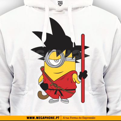 Goku minion minimos shirt dragon ball