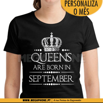 Queens Crown Are Born Shirt