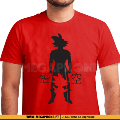 Evolucao goku shirt