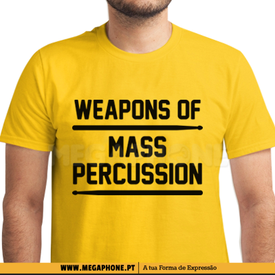 Weapons of Mass Percussion shirt