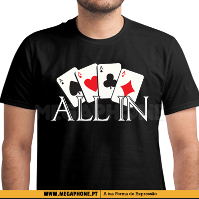 All in poker shirt