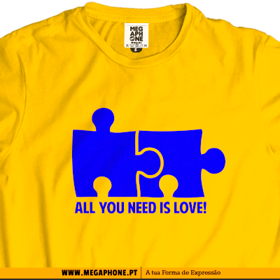 All you need love T-shirt