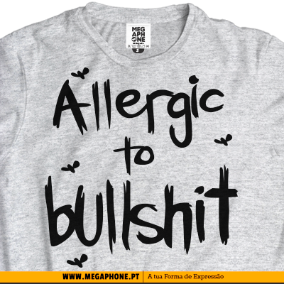 Allergic Bullshit tshirt