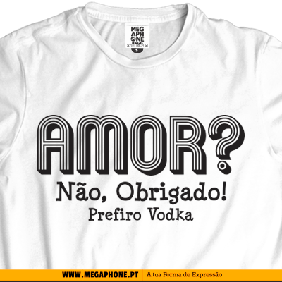 Vodka Amor Vodka T-shirt