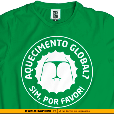 Aquecimento Global tshirt