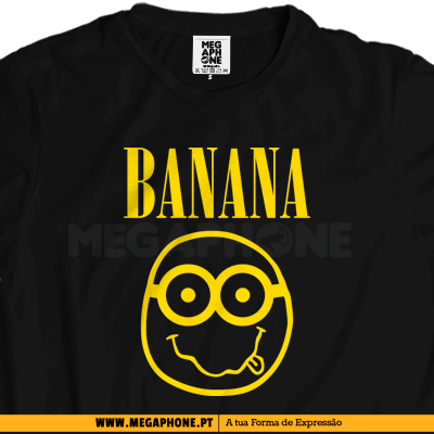 Banana Nirvana shirt minimos minion