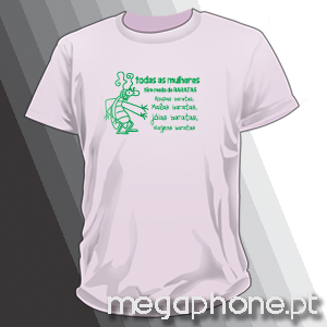 Baratas T-shirt Megaphone Loja Vestuário T-Shirts Personalizadas VSKI  Promoções Descontos Namorados e1b52b008e4