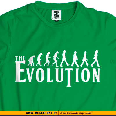 evolution beatles t-shirt