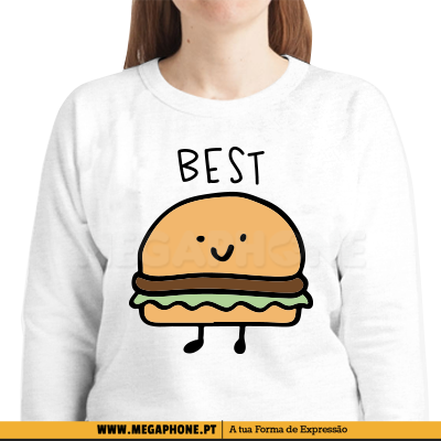 Best Friends Hamburger shirts