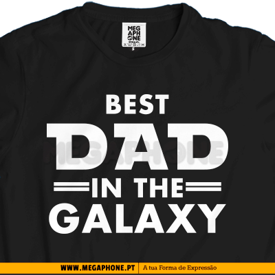 Best dad in the galaxy shirt dia pai