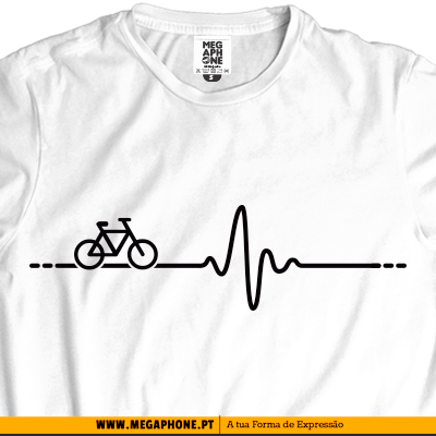 Bike pulse bicicleta pulsacao shirt