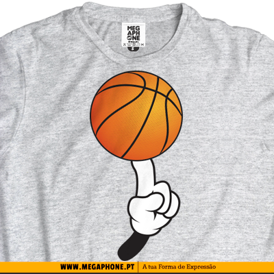 Basketball Mickey maos tshirt