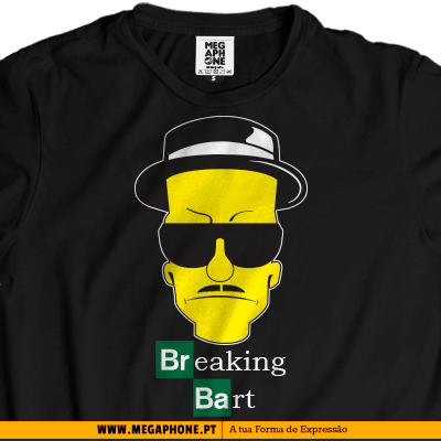 Breaking bart simpsons shirt