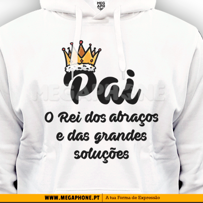 Rei dos Abracos shirt dia do pai