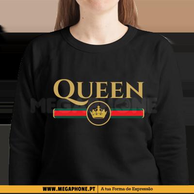 5feb6848250ee Queen Gucci Namorados Shirt Megaphone Loja Vestuário T-Shirts  Personalizadas VSKI Promoções Descontos Namorados