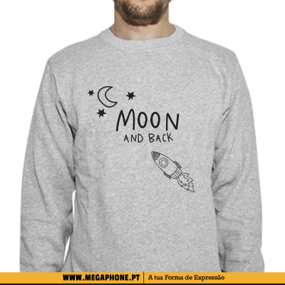 Moon and Back Casal shirt
