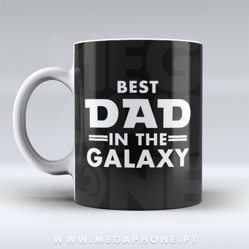 Best Dad In The Galaxy Caneca