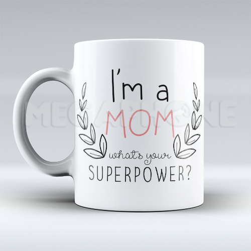 Caneca Mom Superpower