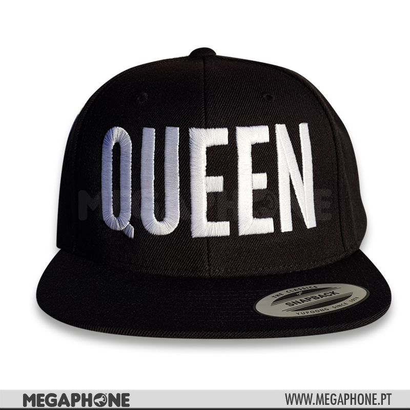 Cap QUEEN White
