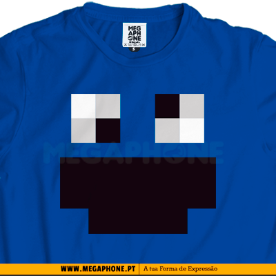 Cookie Monster Minecraft shirt
