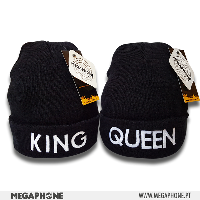 Conjunto Gorros King Queen