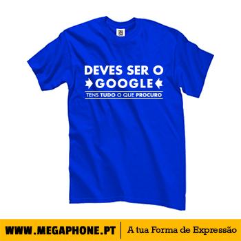 Deves Ser O Google Shirt Megaphone Loja Online De T Shirts