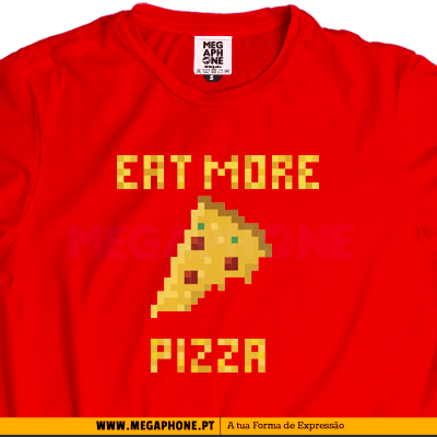 Eat more pizza shirt