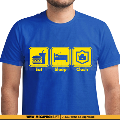 Eat Sleep Clash shirt