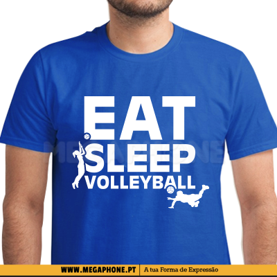 Eat Sleep Volleyball shirt