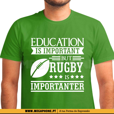 Rugby is important
