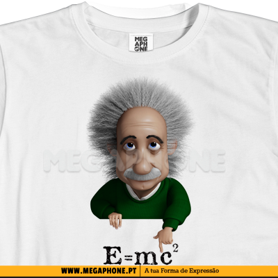 Einstein shirt mc2 camisola