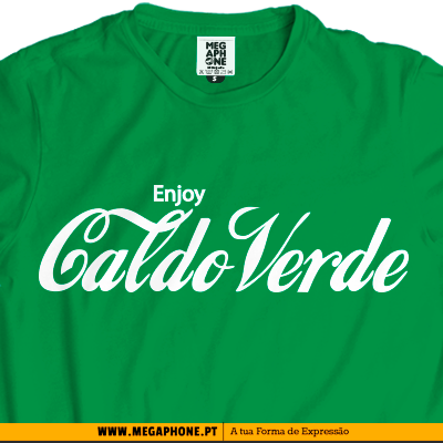 Enjoy Caldo Verde T-shirt
