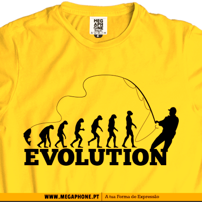 Evolution pesca tshirt