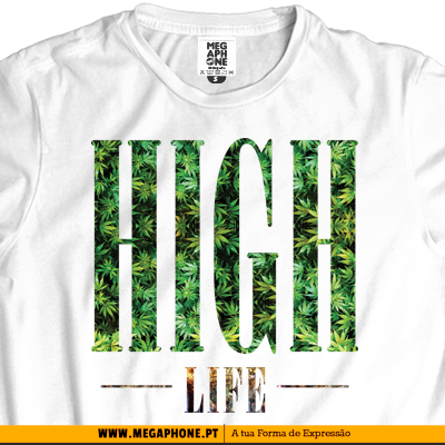 Leaves High life Tshirt