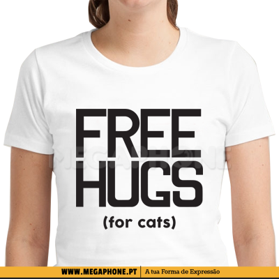 Free Hugs for cats shirt
