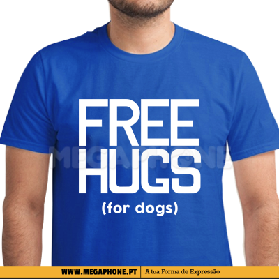 Free hugs for Dogs shirt