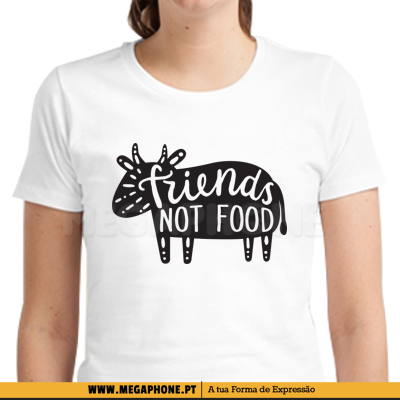 Friends not food shirt