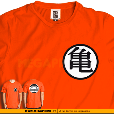 Goku simbolo shirt dragon ball