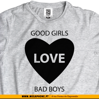Good girls bad boys tshirt