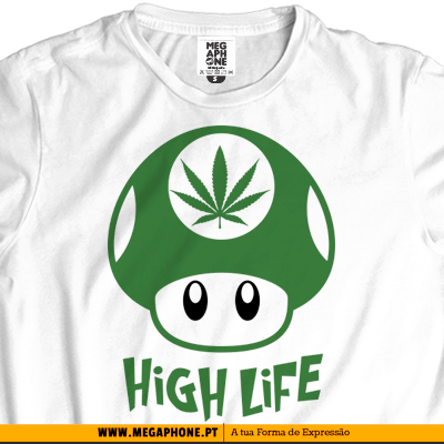 High life T-shirt cannabis