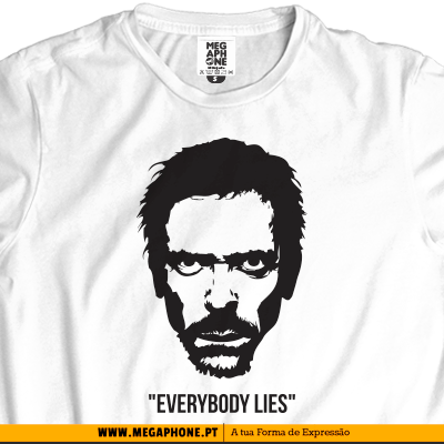 Dr House Lies T-shirt