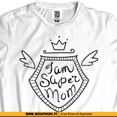 I am SuperMom shirt dia mae