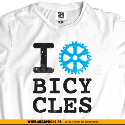 I love bicycles shirt