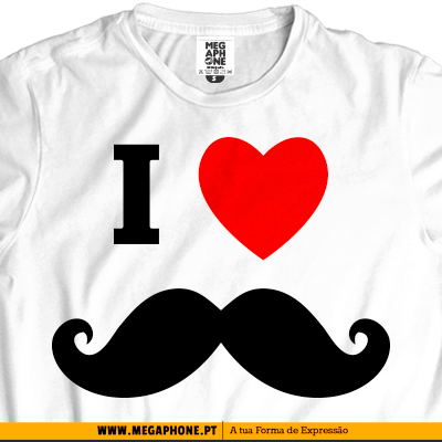 I love bigode t-shirt
