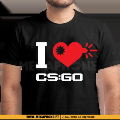 I Love CSGO Shirt